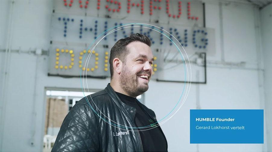 Bekijk video Founder Gerard Lokhorst over HUMBLE