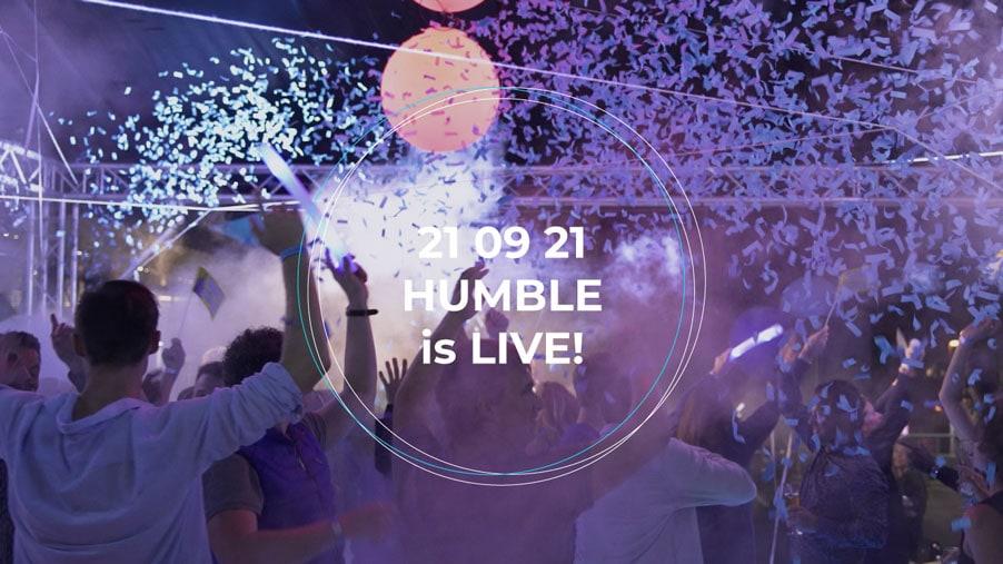 Bekijk video HUMBLE is live!