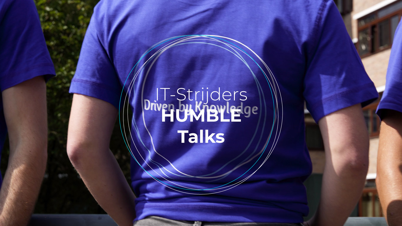 Bekijk video Collega Marnix Janse over HUMBLE!
